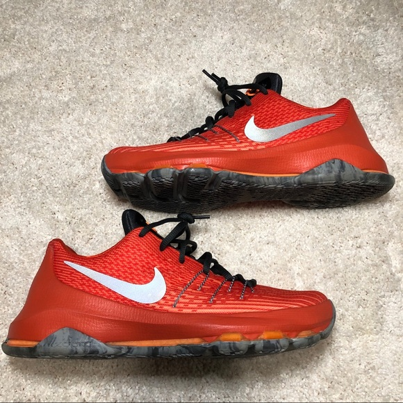 quality design 585e2 8c8d5 Nike KD 8 GS Orange Youth Size 6